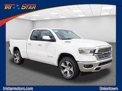 New 2019 Ram All-New 1500 LARAMIE QUAD CAB 4X4 6'4 BOX Quad Cab Uniontown, PA