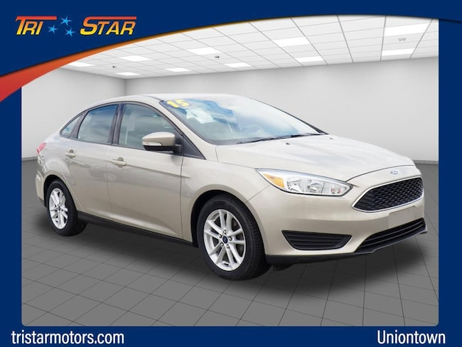 Used 2015 Ford Focus SE Sedan in Uniontown