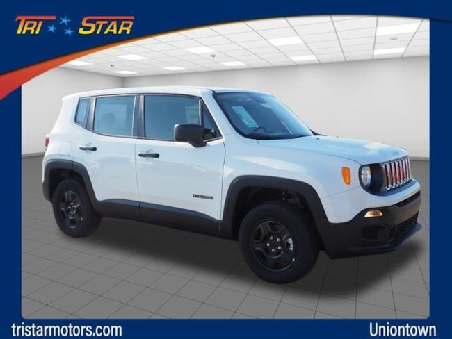 Tri Star Uniontown >> New 2018 Jeep Renegade Sport 4x4 For Sale In Uniontown Pa