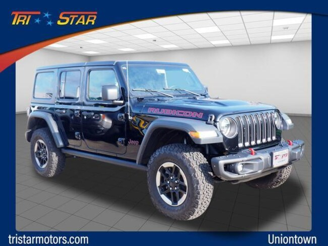new 2018 jeep wrangler unlimited rubicon 4x4 for sale in uniontown