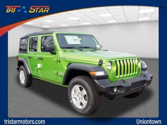 Jeep Wrangler For Sale In Pa >> New 2019 Jeep Wrangler Unlimited Sport S 4x4 For Sale In