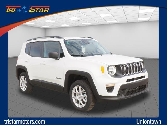 Featured new vehicles 2019 Jeep Renegade SPORT 4X4 Sport Utility for sale near you in Uniontown, PA