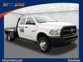 Commercial work trucks and vans 2018 Ram 3500 TRADESMAN CREW CAB CHASSIS 4X4 172.4 WB Crew Cab for sale near you in Uniontown, PA