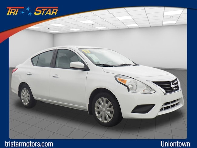 Used 2017 Nissan Versa 1.6 SV Sedan in Uniontown