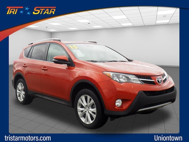 Tri Star Uniontown >> Used 2015 Toyota Rav4 Limited For Sale In Uniontown Pa Vin
