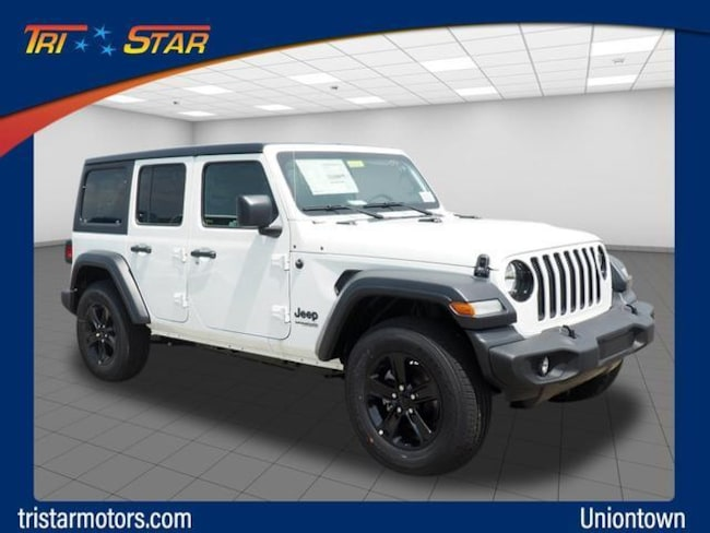 New 2019 Jeep Wrangler UNLIMITED SPORT ALTITUDE 4X4 Sport Utility in Uniontown