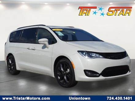 Featured pre-owned cars, trucks, and SUVs 2020 Chrysler Pacifica Limited Van Passenger Van for sale near you in Uniontown, PA