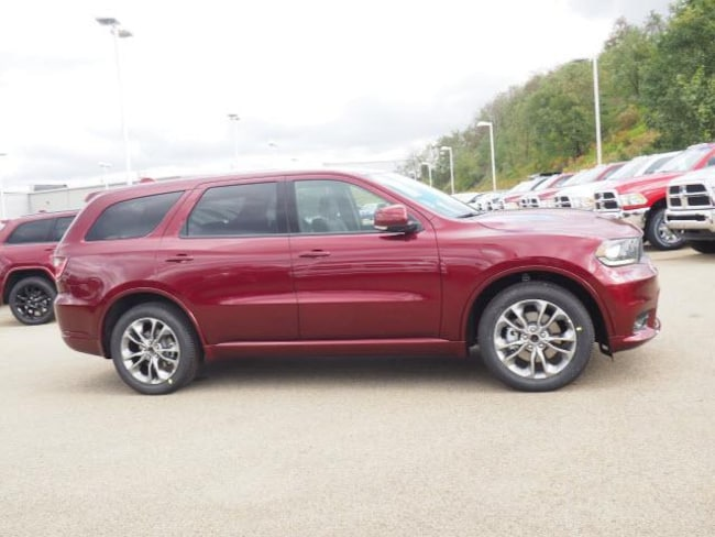 New 2019 Dodge Durango R/T AWD For Sale in Uniontown, PA | VIN#  1C4SDJCT8KC576302
