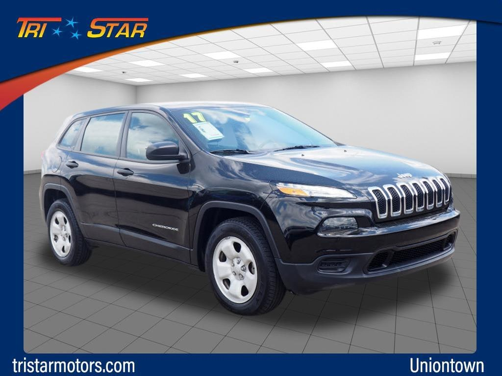Featured pre-owned cars, trucks, and SUVs 2017 Jeep Cherokee Sport 4x4 SUV for sale near you in Uniontown, PA