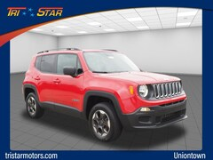 Certified pre-owned vehicles 2017 Jeep Renegade Sport 4x4 SUV for sale near you in Uniontown, PA