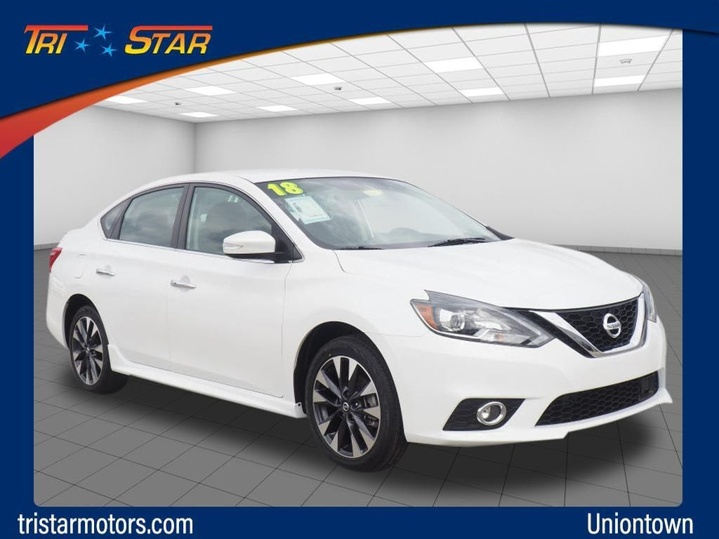 Featured pre-owned cars, trucks, and SUVs 2018 Nissan Sentra SR Sedan for sale near you in Uniontown, PA
