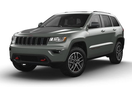 Featured new vehicles 2021 Jeep Grand Cherokee TRAILHAWK 4X4 Sport Utility for sale near you in Uniontown, PA