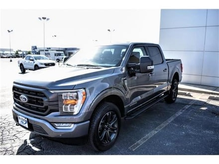 2021 Ford F-150 XLT 4x4 SuperCrew Cab Styleside 5.5 ft. box 145 in Truck
