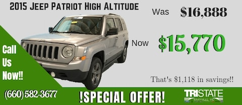 2015 Jeep Patriot Special Offer!!