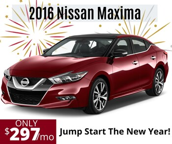 Bring on the New Year 2016 Nissan Maxima Platinum