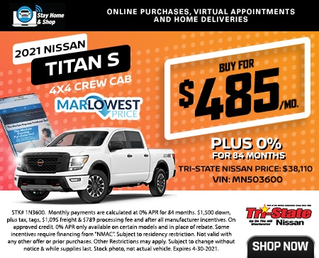 2021 NISSAN TITAN S 4X4 CREW CAB