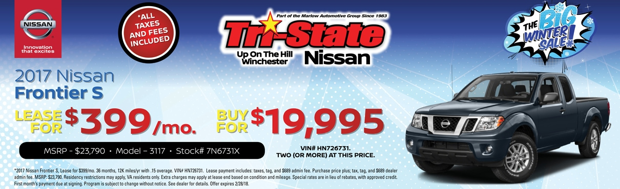 Winchester va nissan dealer new nissan and used car for Honda dealer winchester va