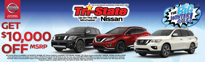 Tri state nissan winchester va nissan dealer autos post for Marlow motors front royal va