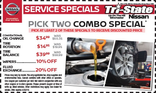 Auto Service Specials in Winchester, VA | Oil Changes, Tire
