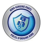 Hino genuine parts guarantee