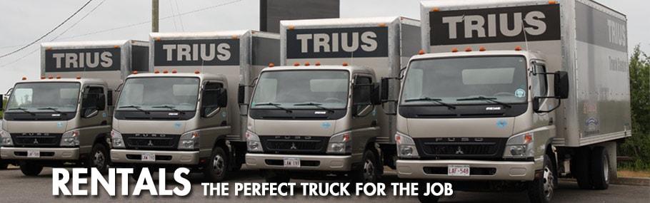 Trius truck rental
