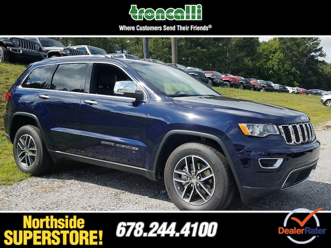 New 2018 Jeep Grand Cherokee LIMITED 4X2 Sport Utility in Cumming GA
