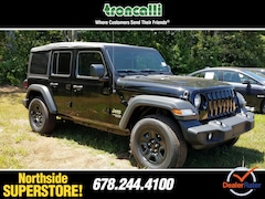 New 2018 Jeep Wrangler UNLIMITED SPORT 4X4 Sport Utility in Cumming