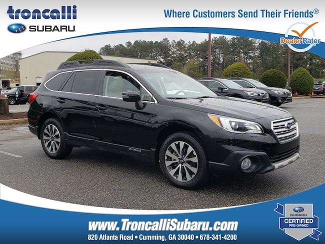 Used 2017 Subaru Outback Limited in Cumming, GA