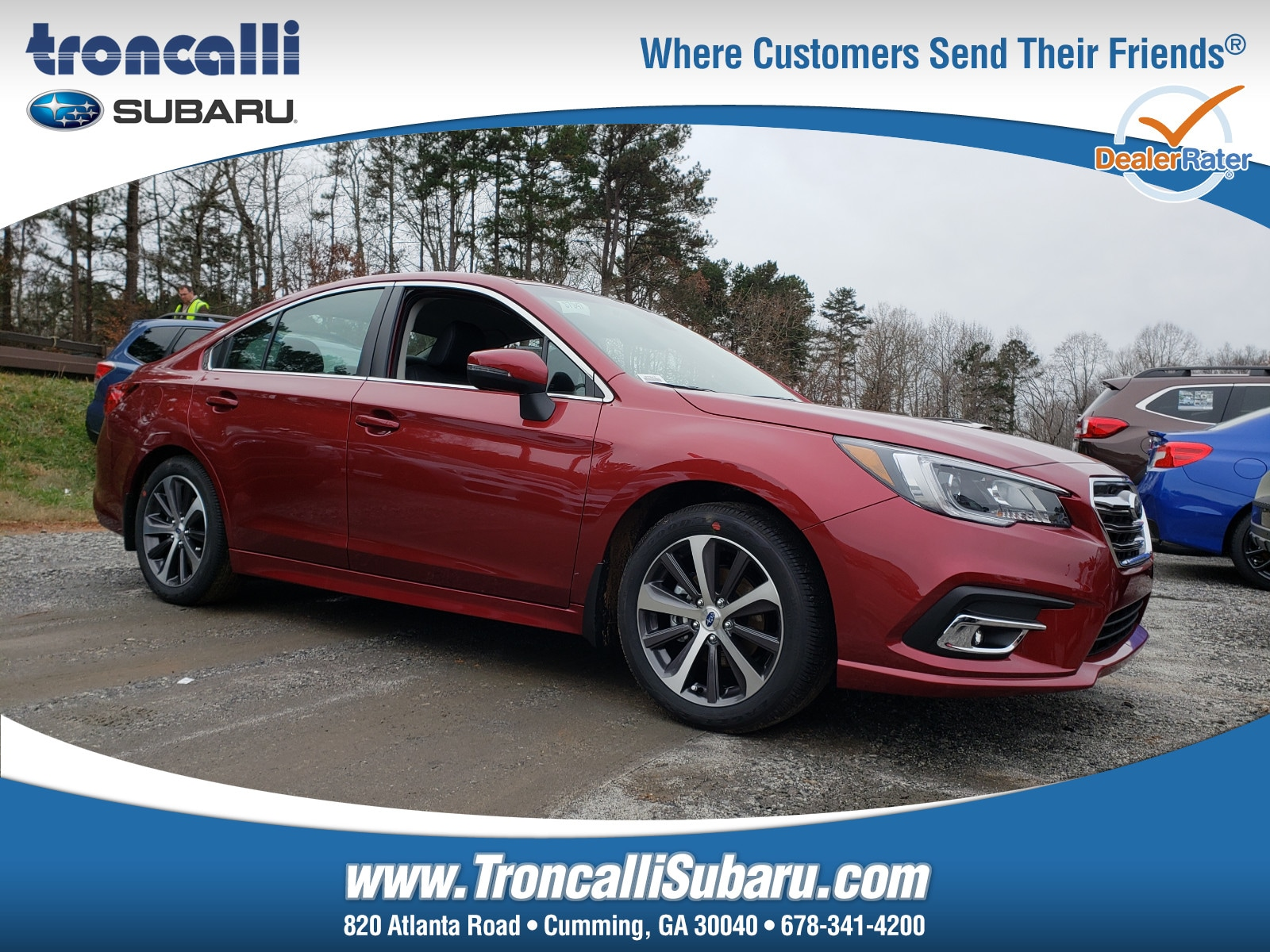 New 2019 Subaru Legacy 2.5i Limited Sedan in Cumming GA