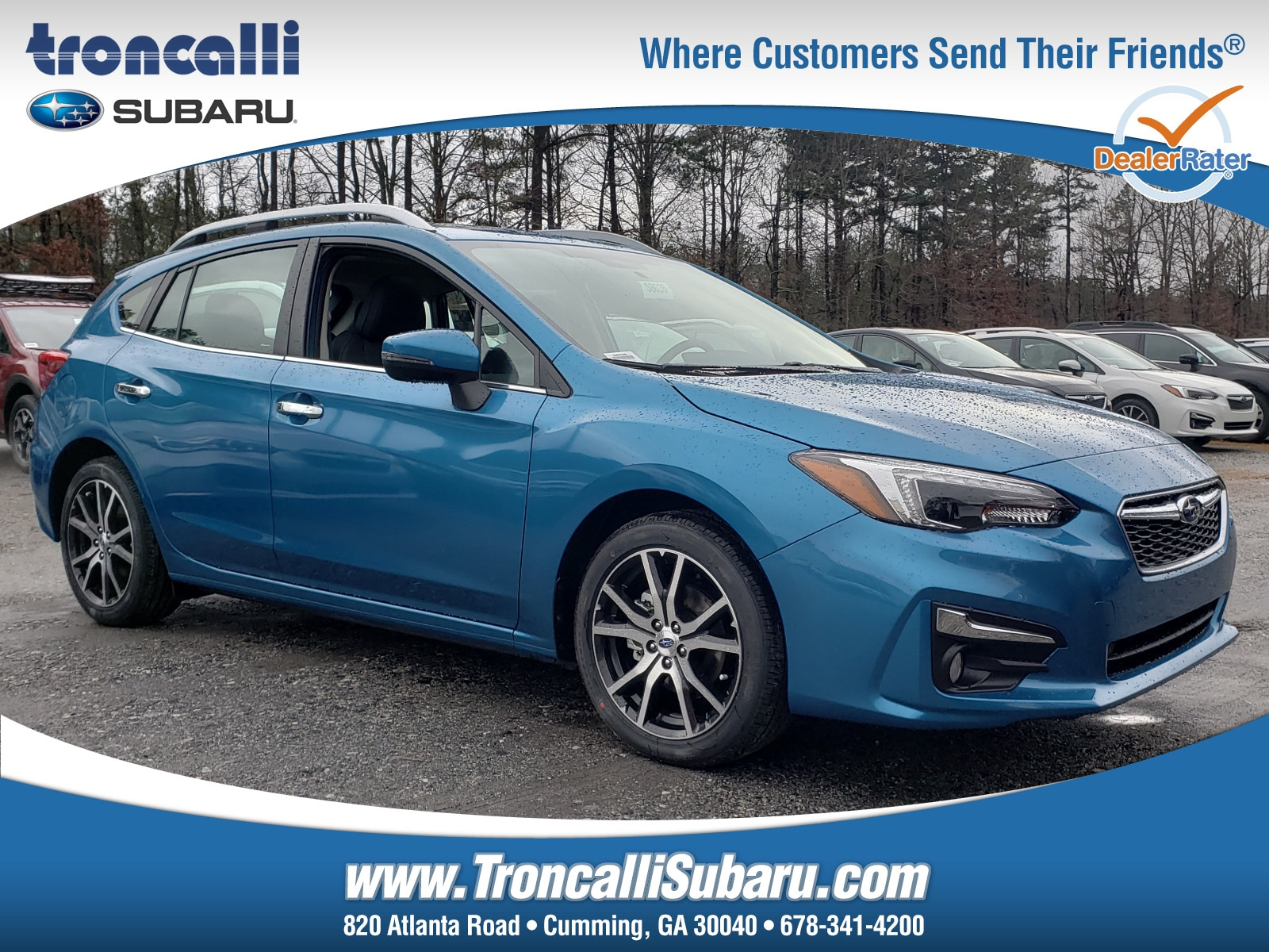 New 2019 Subaru Impreza 2.0i Limited 5-door in Cumming GA