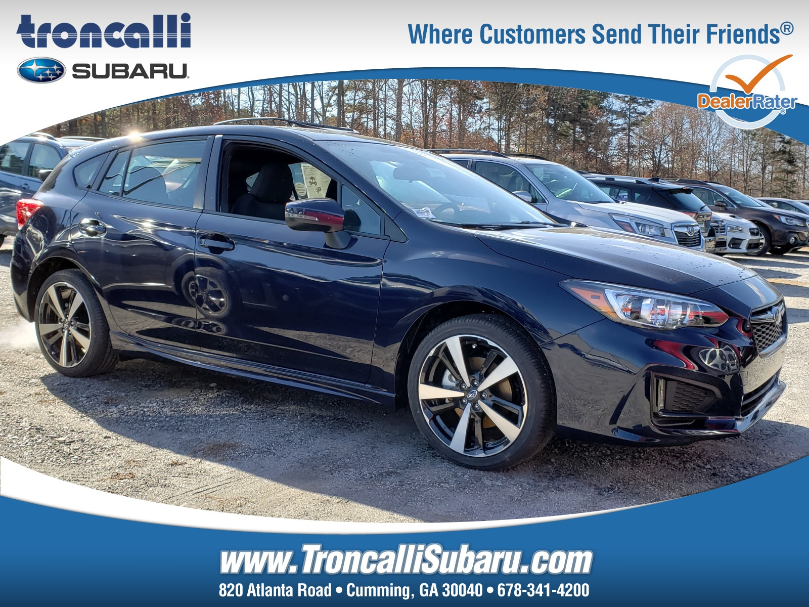 New 2019 Subaru Impreza 2.0i Sport 5-door in Cumming GA