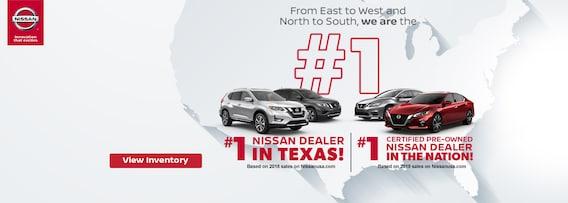 Nissan Dealerships Dfw >> Fort Worth Area Car Dealer New Nissan Used Cars Nissan