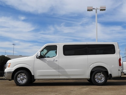 New 2019 Nissan NV Passenger NV3500 HD SL For Sale in Mesquite TX KN850408  | Mesquite New Nissan For Sale 5BZAF0AA6KN850408