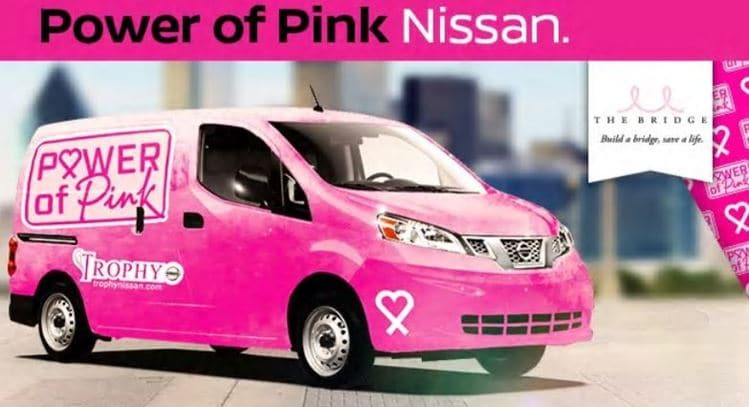 Power of Pink Nissan