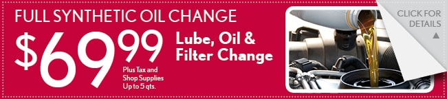 Synthetic Oil Change, Mesquite