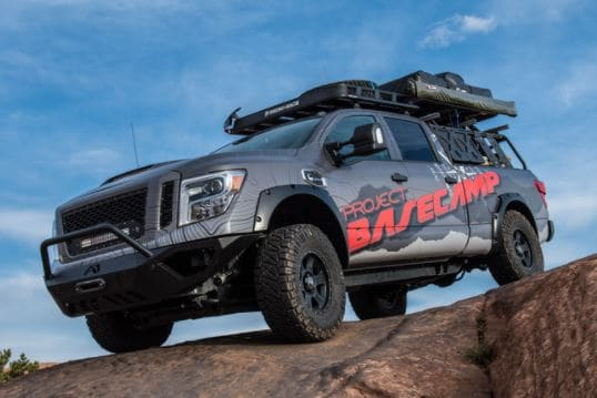2017 Nissan TITAN XD PRO-4X Project Basecamp Unveiled