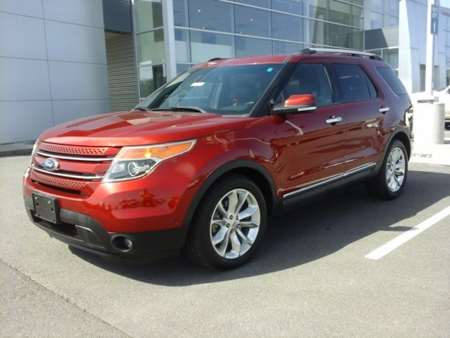 Pre-Owned 2015 Ford Explorer Limited Sport Utility for sale in Pine Bluff, AR