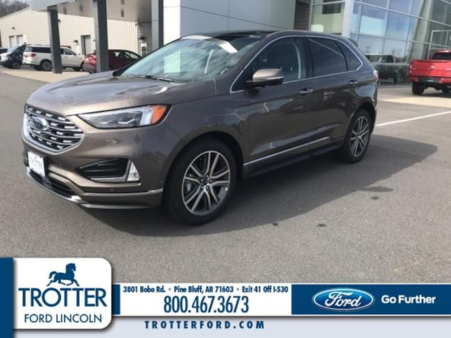 New 2019 Ford Edge Titanium Crossover for sale in Pine Bluff, AR