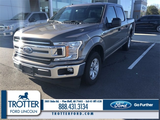 Pre-Owned 2018 Ford F-150 XLT XL 2WD SUPERCREW 5.5 BOX for sale in Pine Bluff, AR