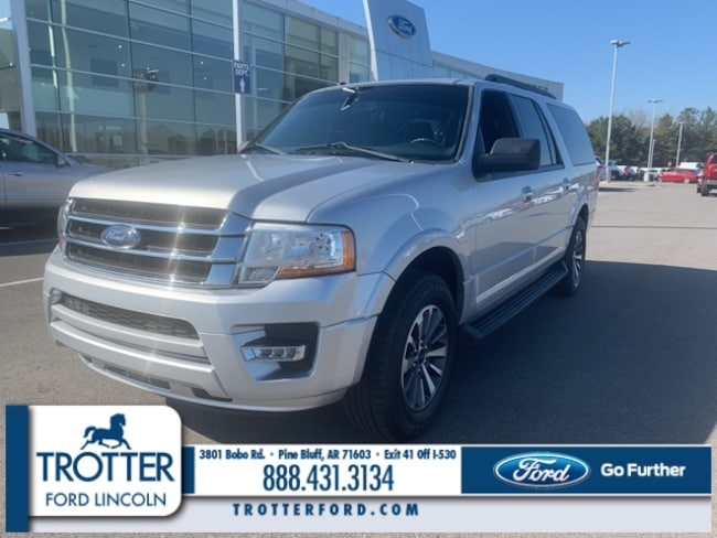 Pre-Owned 2016 Ford Expedition EL XLT SUV for sale in Pine Bluff, AR