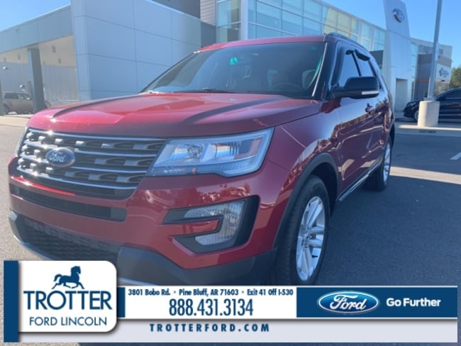 Pre-Owned 2016 Ford Explorer XLT Sport Utility for sale in Pine Bluff, AR