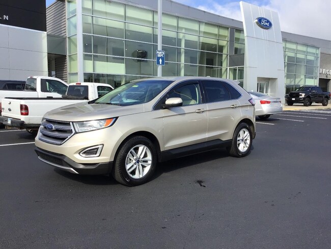 Pre-Owned 2017 Ford Edge SEL Sport Utility for sale in Pine Bluff, AR