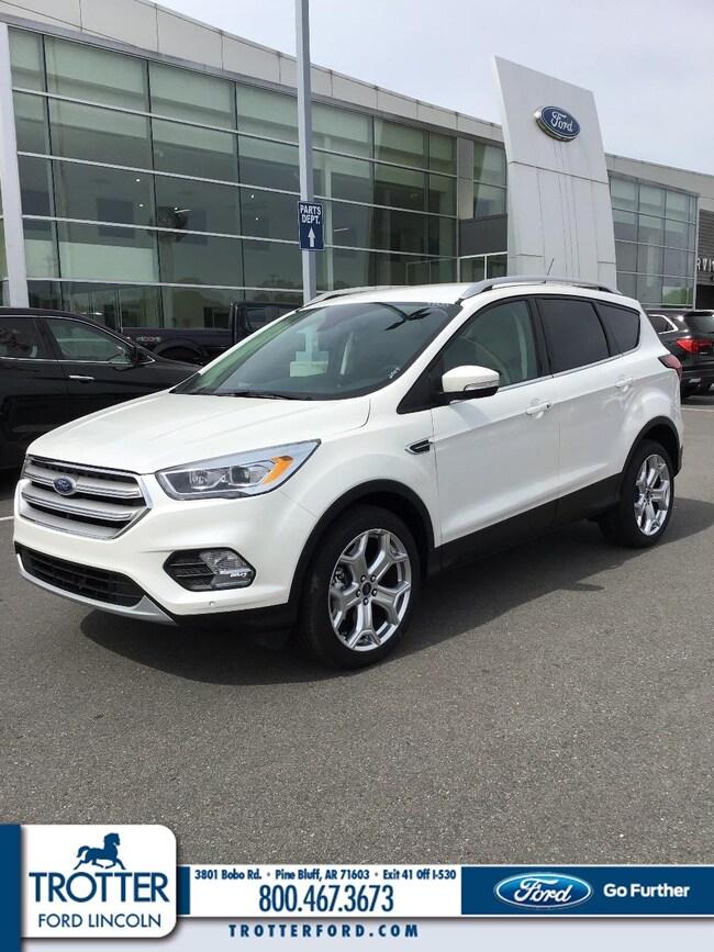 New 2019 Ford Escape Titanium SUV for sale in Pine Bluff, AR