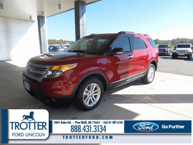 Pre-Owned 2013 Ford Explorer XLT SUV for sale in Pine Bluff, AR