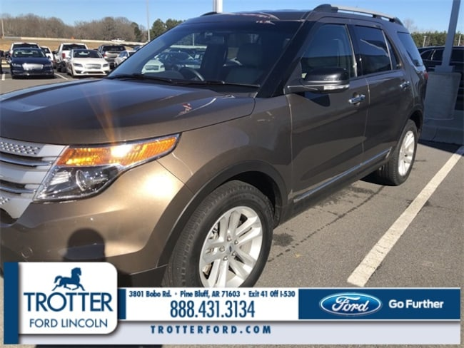 Pre-Owned 2015 Ford Explorer XLT Sport Utility for sale in Pine Bluff, AR