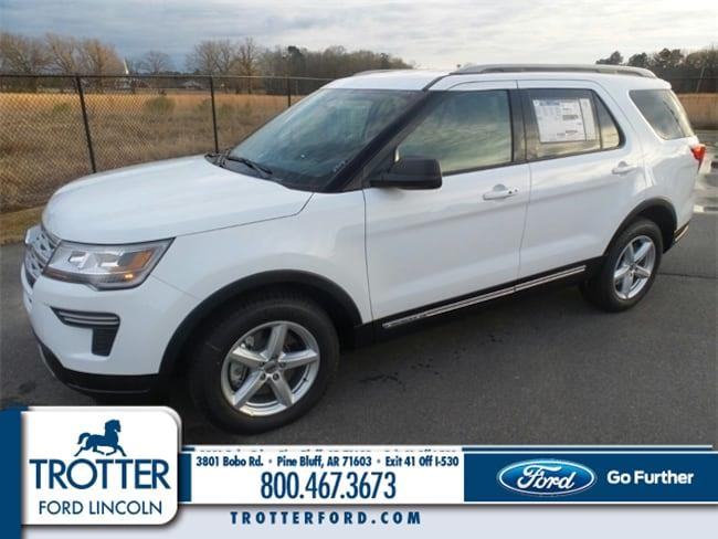 New 2019 Ford Explorer XLT SUV for sale in Pine Bluff, AR