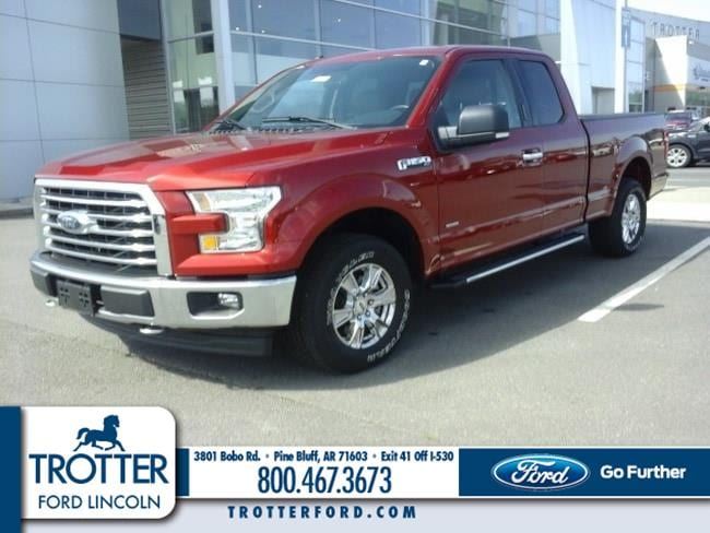 Pre-Owned 2017 Ford F-150 XLT Truck SuperCab Styleside for sale in Pine Bluff, AR