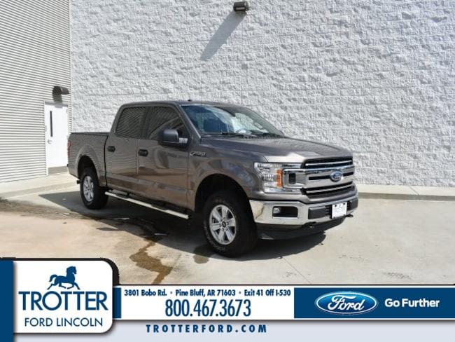 Pre-Owned 2018 Ford F-150 XLT XLT 4WD SUPERCREW 5.5 BX for sale in Pine Bluff, AR
