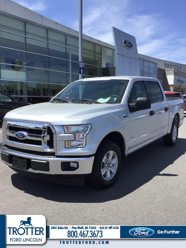 Pre-Owned 2017 Ford F-150 XL Crew Cab Pickup - Short Bed for sale in Pine Bluff, AR