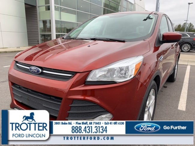 Pre-Owned 2015 Ford Escape SE SUV for sale in Pine Bluff, AR